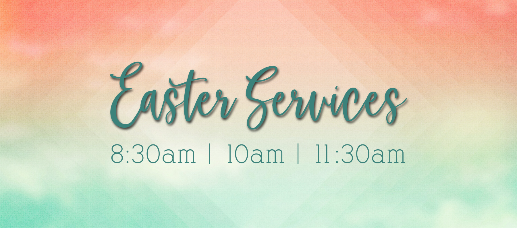 11:30am Easter Service