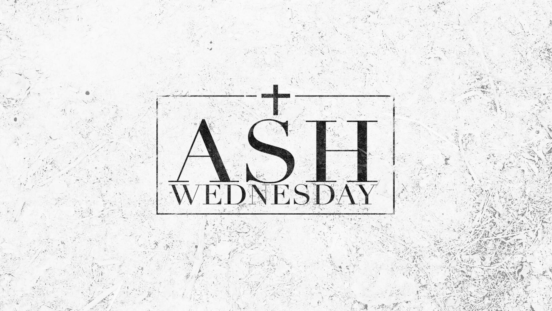Ash Wednesday Gathering