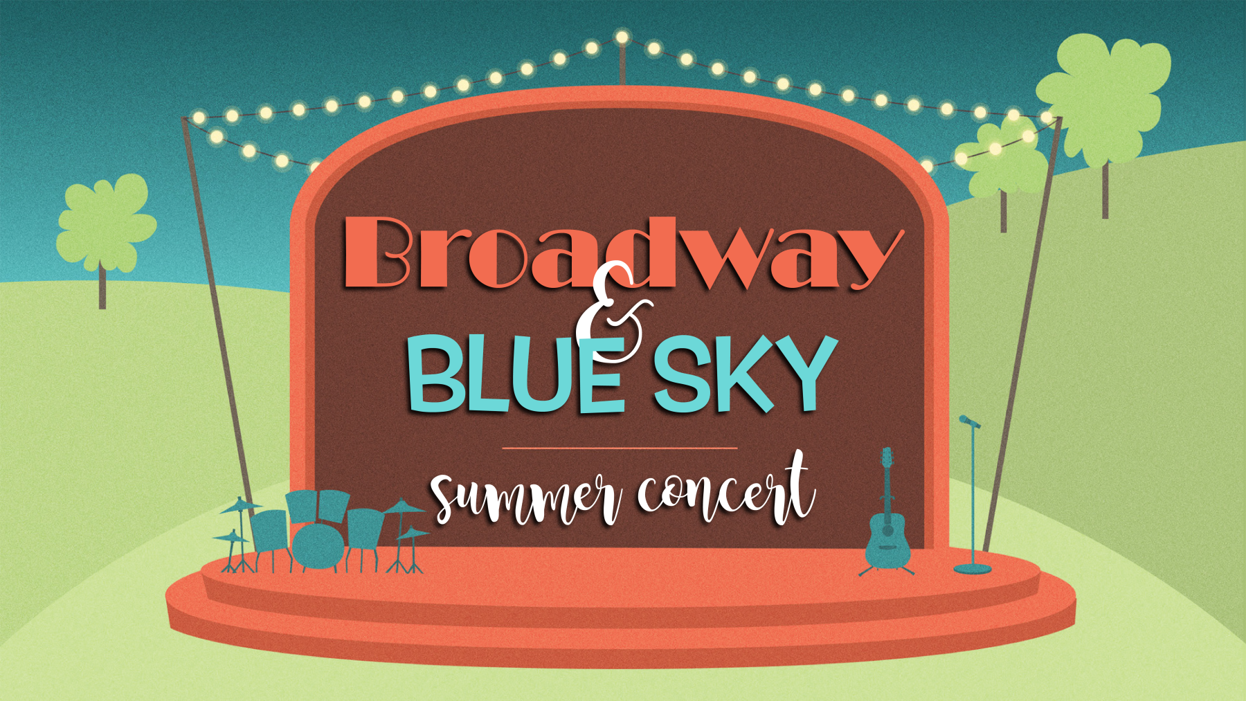 Broadway and Blue Sky